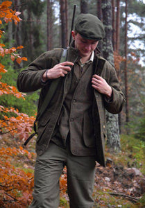 Alan Paine Jaktjacka i Tweed - Combrook Forest Green - Alan Paine