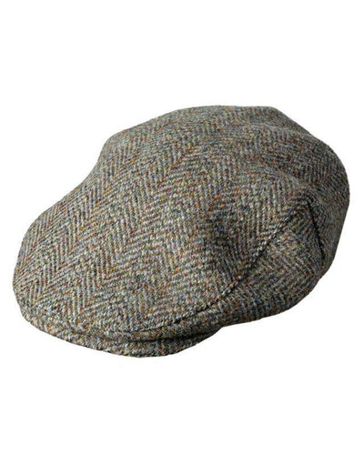 Flat Cap Harris Tweed Gubbkeps - Hoggs of Fife