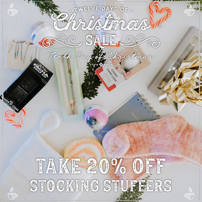 20% Off Stocking Stuffers