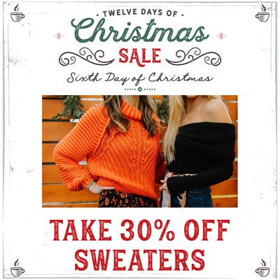 30% Off Sweaters! Paperdoll 12 Days of Christmas Sale!