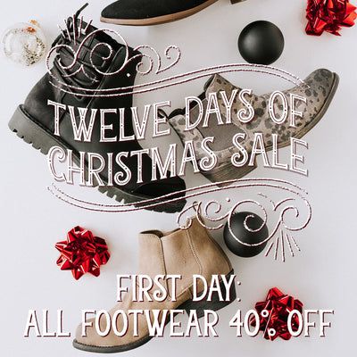 Twelve Days of Christmas Sale! Starts Now!