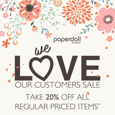 We 💕 Our Customers Sale! Feb 7th & 8th