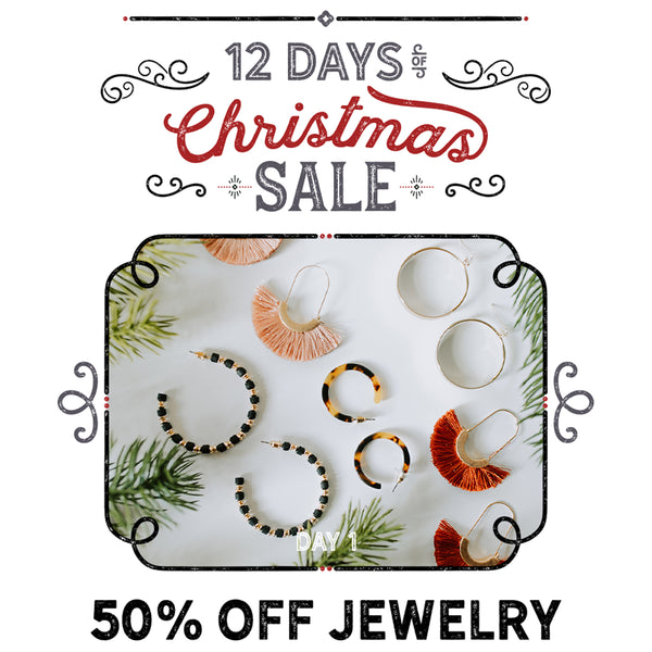 Paperdoll 12 Days of Christmas Sale: 50% Off Jewelry!