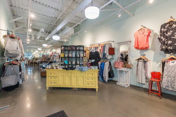 Interior View of Paperdoll Boutique