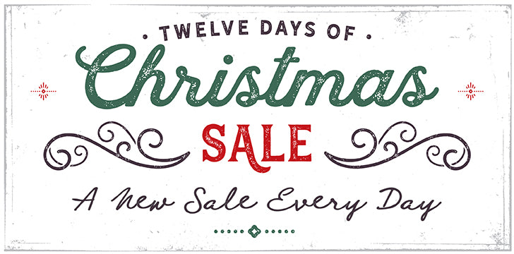 Paperdoll Boutique 12 Days of Christmas Sale Banner