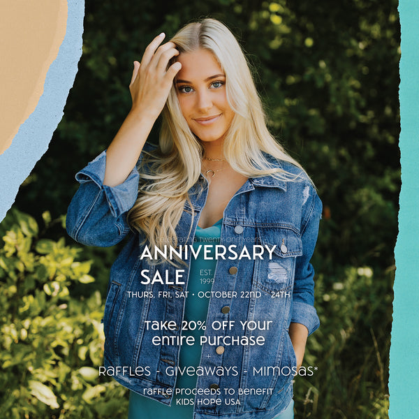 Paperdoll Boutique Anniversary Sale Banner Image