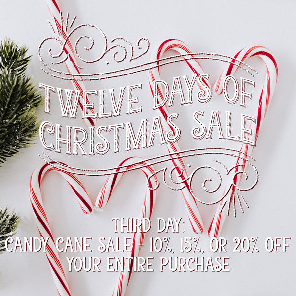 Photos of Candy Canes. Candy Cane Sale: 10%, 15% or 20% off your entire purchase