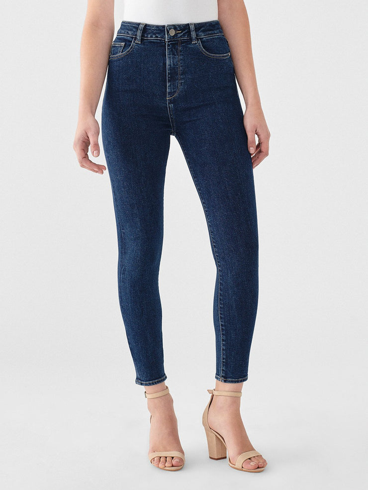 CHRISSY CROPPED ULTRA HIGH RISE INSTASCULPT SKINNY