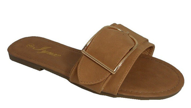 SANDAL SLIDE W/ BUCKLE
