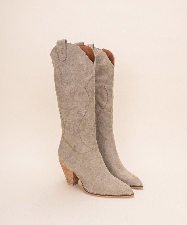 BOHEMIAN FAUX SUEDE BOOT