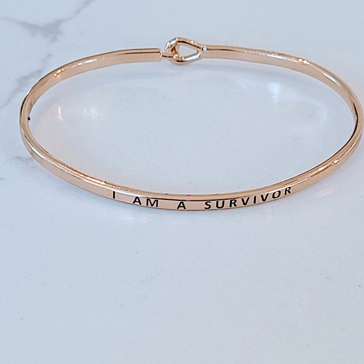QUOTE BRACELET SURVIVOR