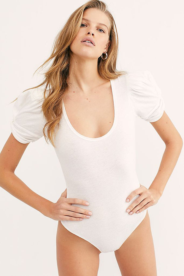 AVA BODYSUIT WHITE
