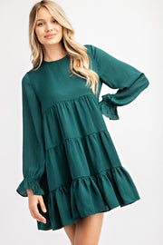 BABYDOLL TIERED DRESS