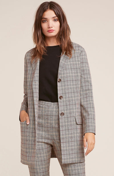 EX BOYFRIEND PLAID JKT