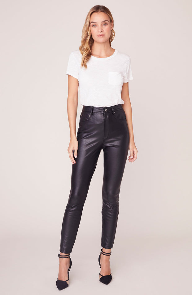 MORRISON VEGAN LEATHER SKINNY PANT