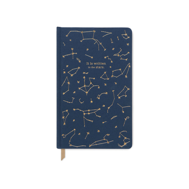 CLOTH JOURNAL-NAVY CONSTELLATIONS