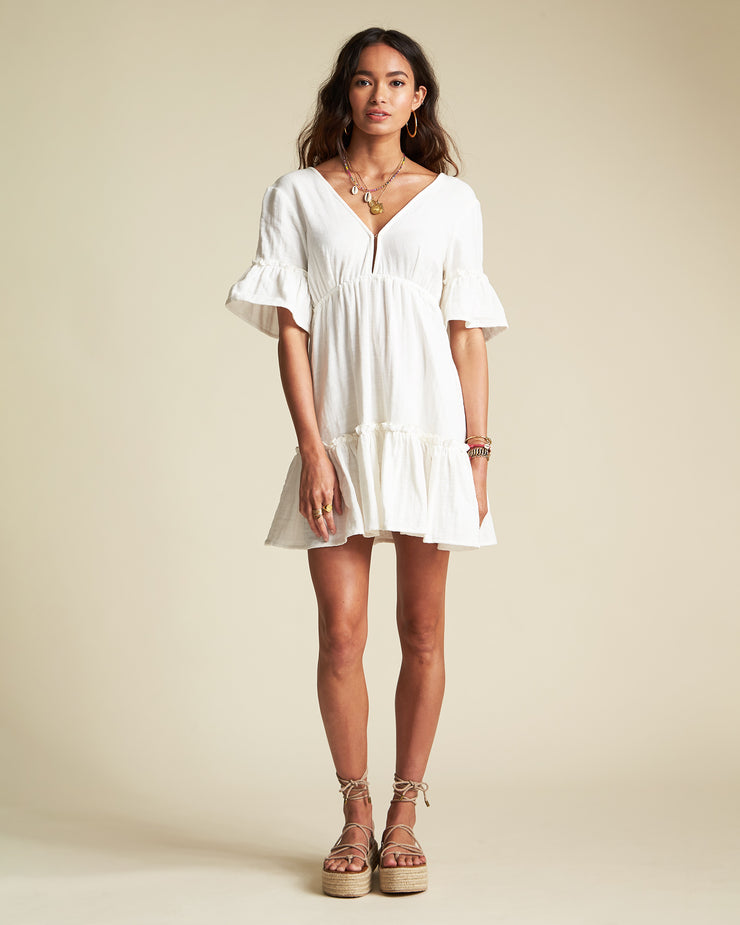 SINCERELY JULES LOVERS WISH DRESS IVORY