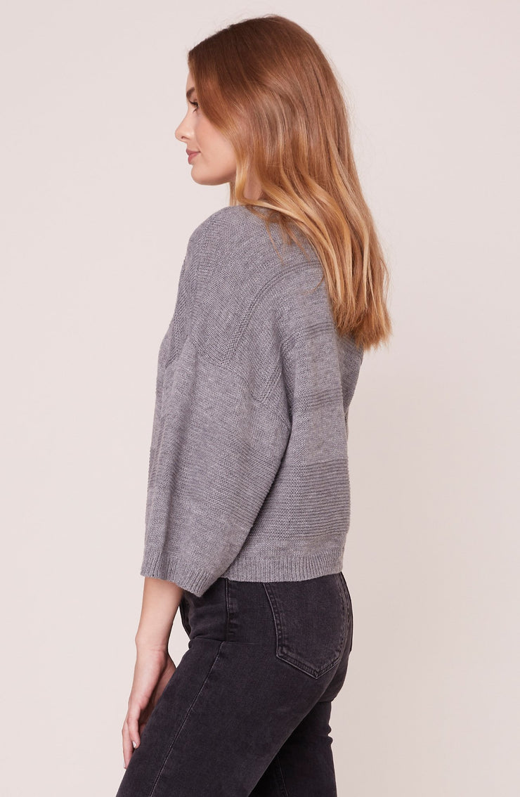 TUNE IN DROP OUT MOCK NECK SWEATER