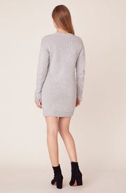 CABLE THAT WAY SWEATER DRESS