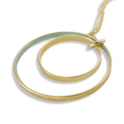 NESTED CIRCLES NECKLACE