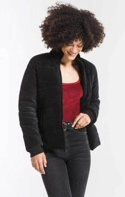 THE CORDUROY PUFFER JACKET