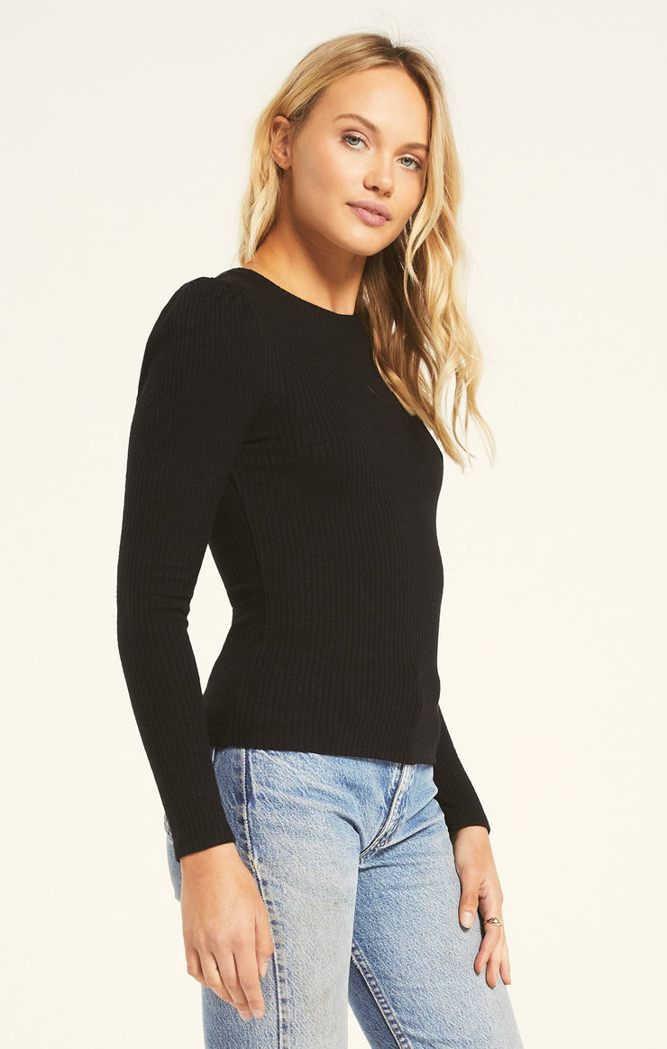 KAIYA RIBBED TOP
