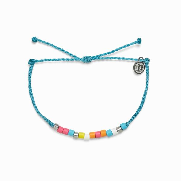 HAPPY FACE BEADED BRACELET