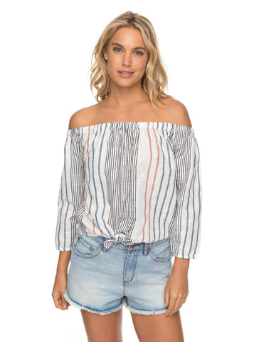 CROSSING STRIPES TOP