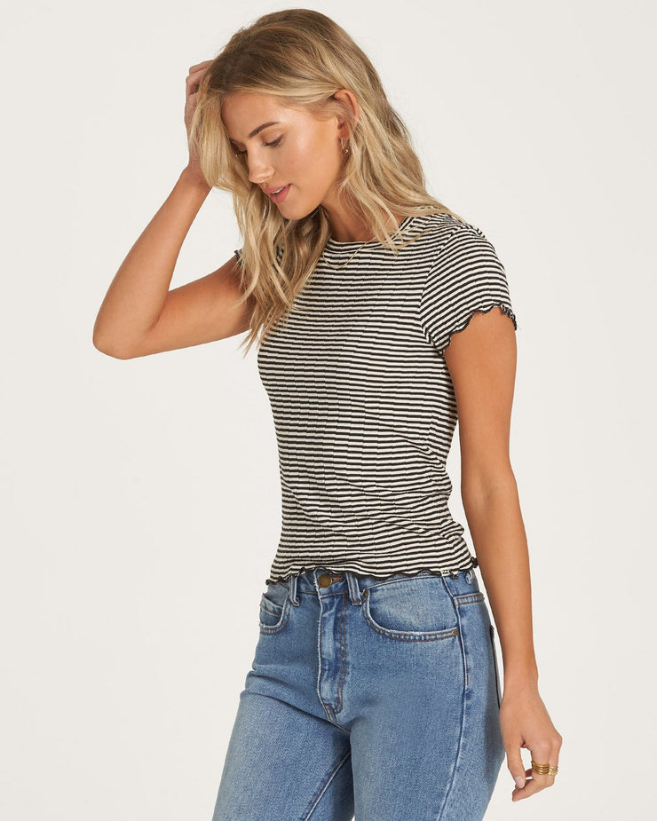 ME AGAIN STRIPE TEE