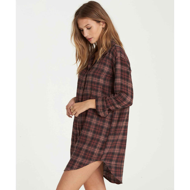 TALES OF WINTER SHIRT DRESS