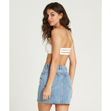 BLACK MAGIC DENIM SKIRT - SEA WASH