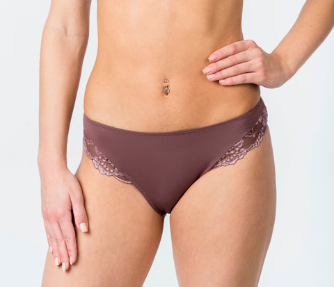 Women's Panties in Brown color (101-1-185)