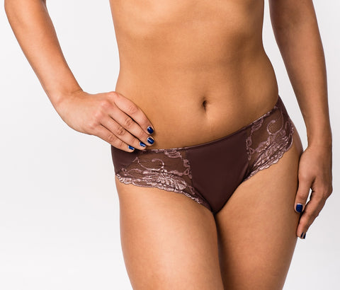 Women's Panties in Brown color (101-51-585)