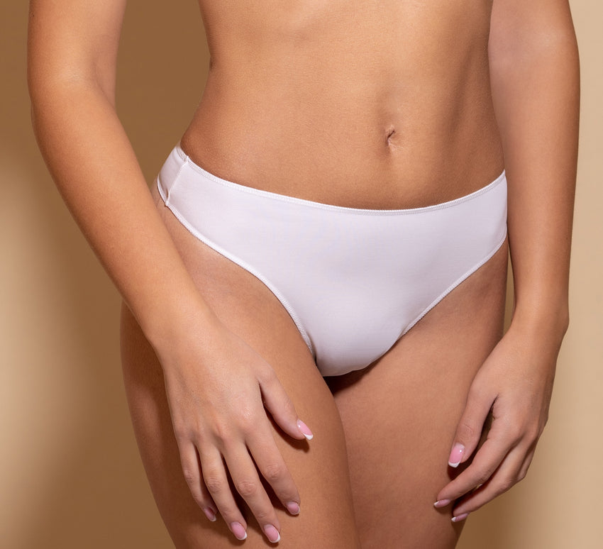 Women's Thongs in Ivory color (171/2)
