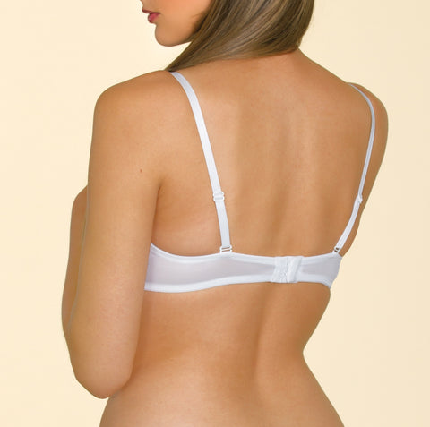Women's Soft Cup Bra all-over White Lace (2870-569)
