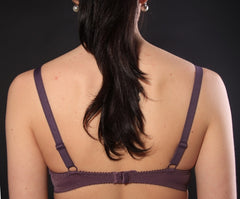 Women's Push up Bra in Deep violet color (4560-333)