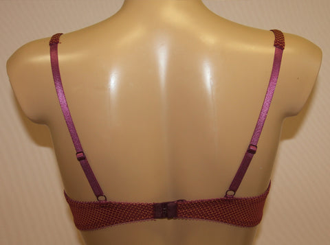 Women's Bordo color Push up Bra, size 75C (6851-2)