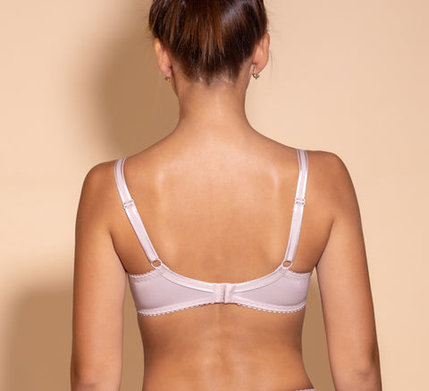 Women's Soft Cup Bra in Light Beige color (7780-7785)