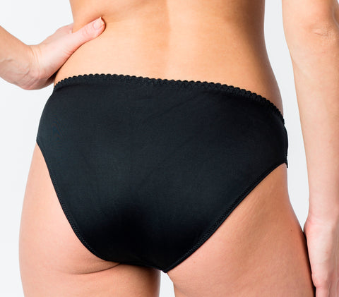 Women's Panties in Black color (8056)