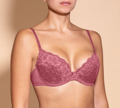 Women's Push up Bra, Rose color (88983)