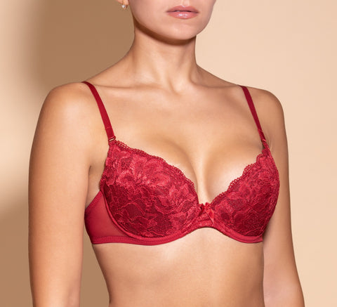Women's Push up Bra, Red color (88983)