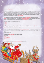 Load image into Gallery viewer, Personalised Santa Letter and Extra's - Cookies & Hot Chocolate