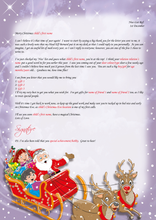 Load image into Gallery viewer, Personalised Santa Letter and Extra's - Thanks For Your Letter