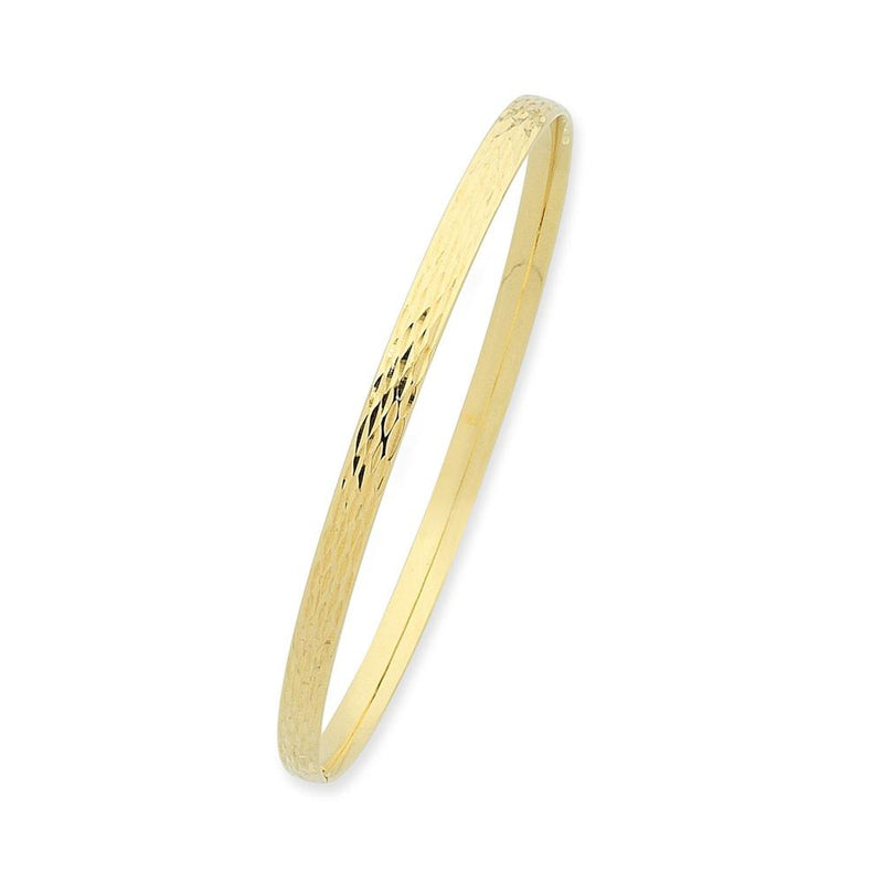 9Ct Gold Silver Filled Bangle