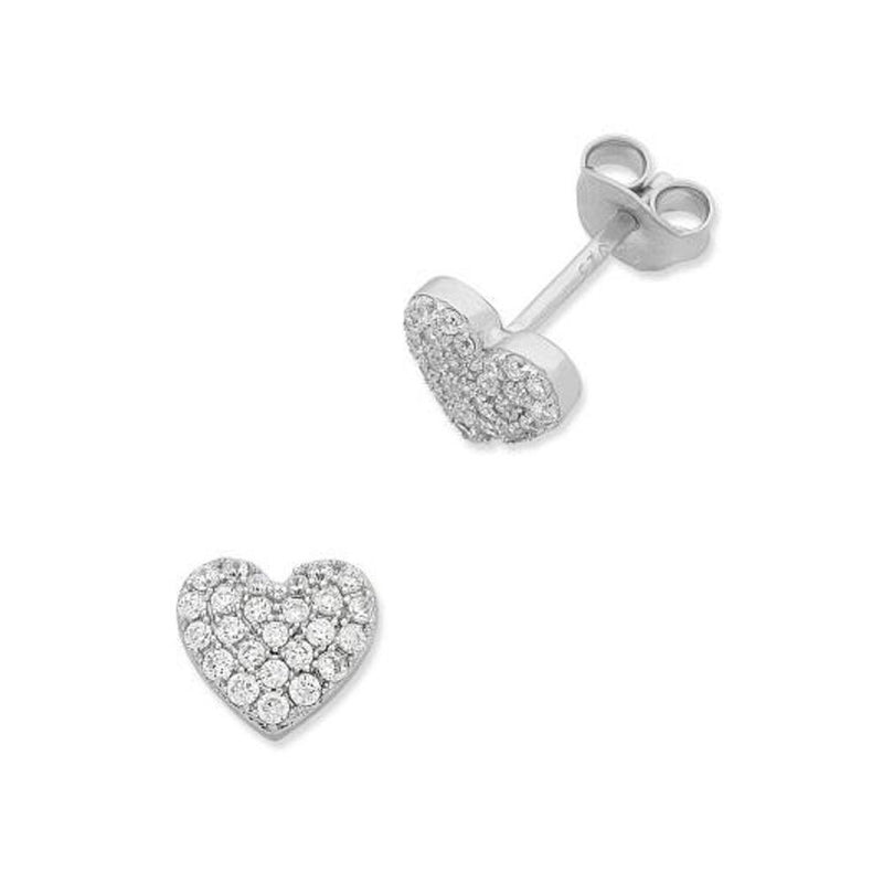 Sterling Silver Cubic Zirconia Studs