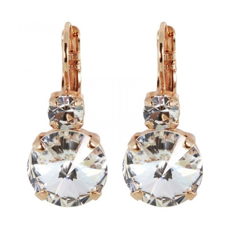Mariana - Africa On A Clear Day Crystal Drop Earrings