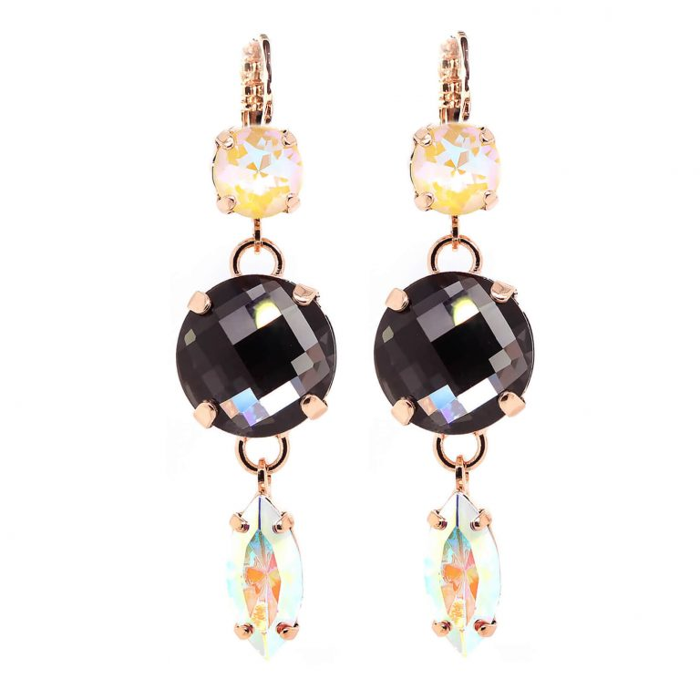 Mariana - Butterfly Alexandra Crystal Drop Earrings