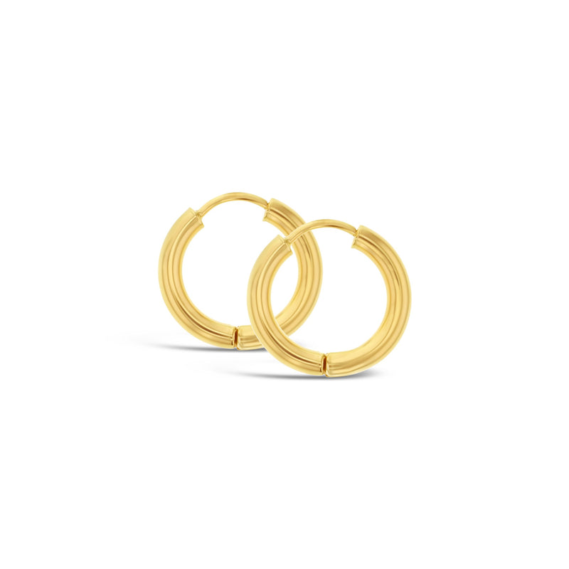 Huggie Earrings in 9ct Gold