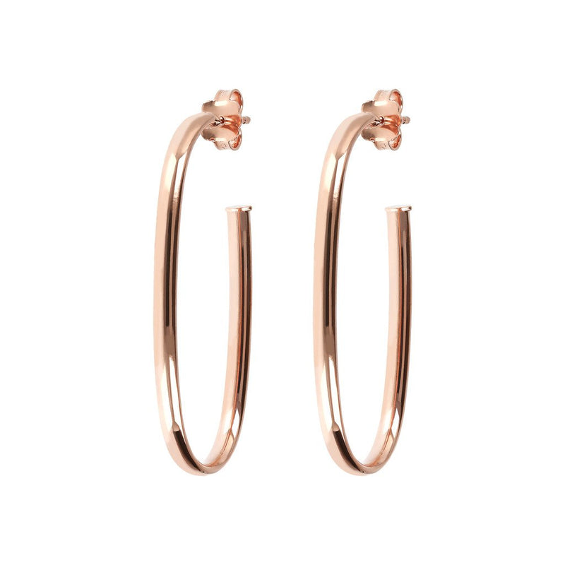 Bronzallure Semioval Earrings
