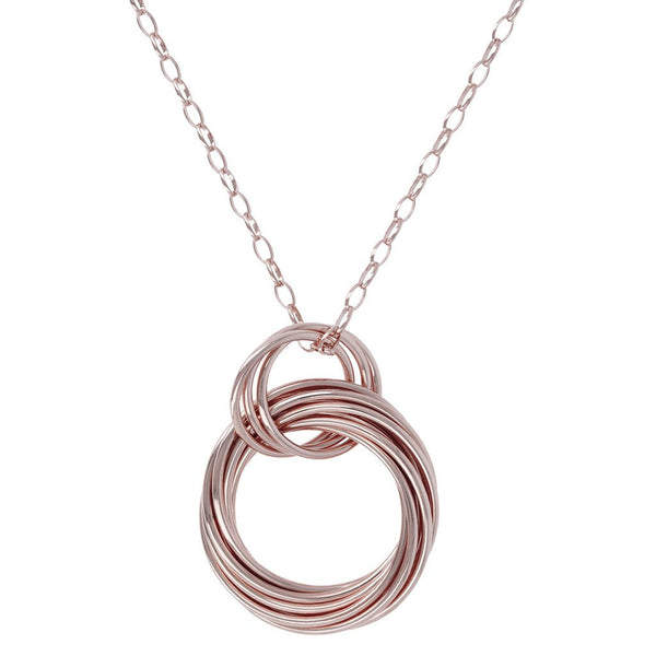 Bronzallure Circle Necklace Pendant